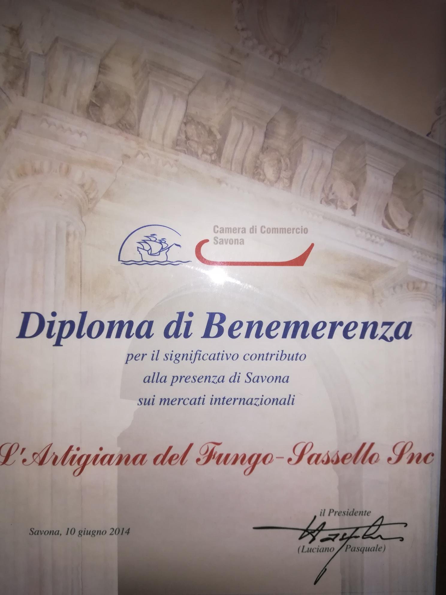 Diploma Camera Commercio per mercati internazionali